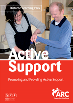 Image: Promoting and Providing Active Support Training Course
