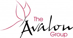 The Avalon Group Logo Pantone 200 C
