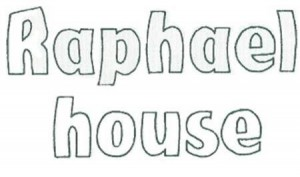 raphael house logo words