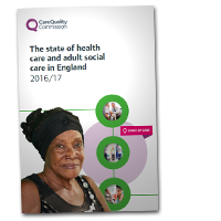 CQC state of care cover