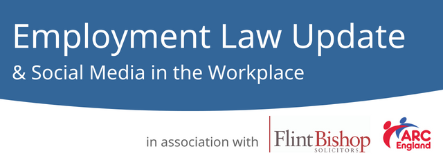 Keep up to date at one of our half-day Employment Law Update events in Birmingham (10 October) or London (6 November) with Employment Law and HR Partner from Flint Bishop LLP, Emma Tice.
