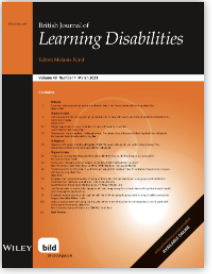 Image of British Journal of Learning Disabilities
